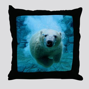 Polar Bear Throw Pillow